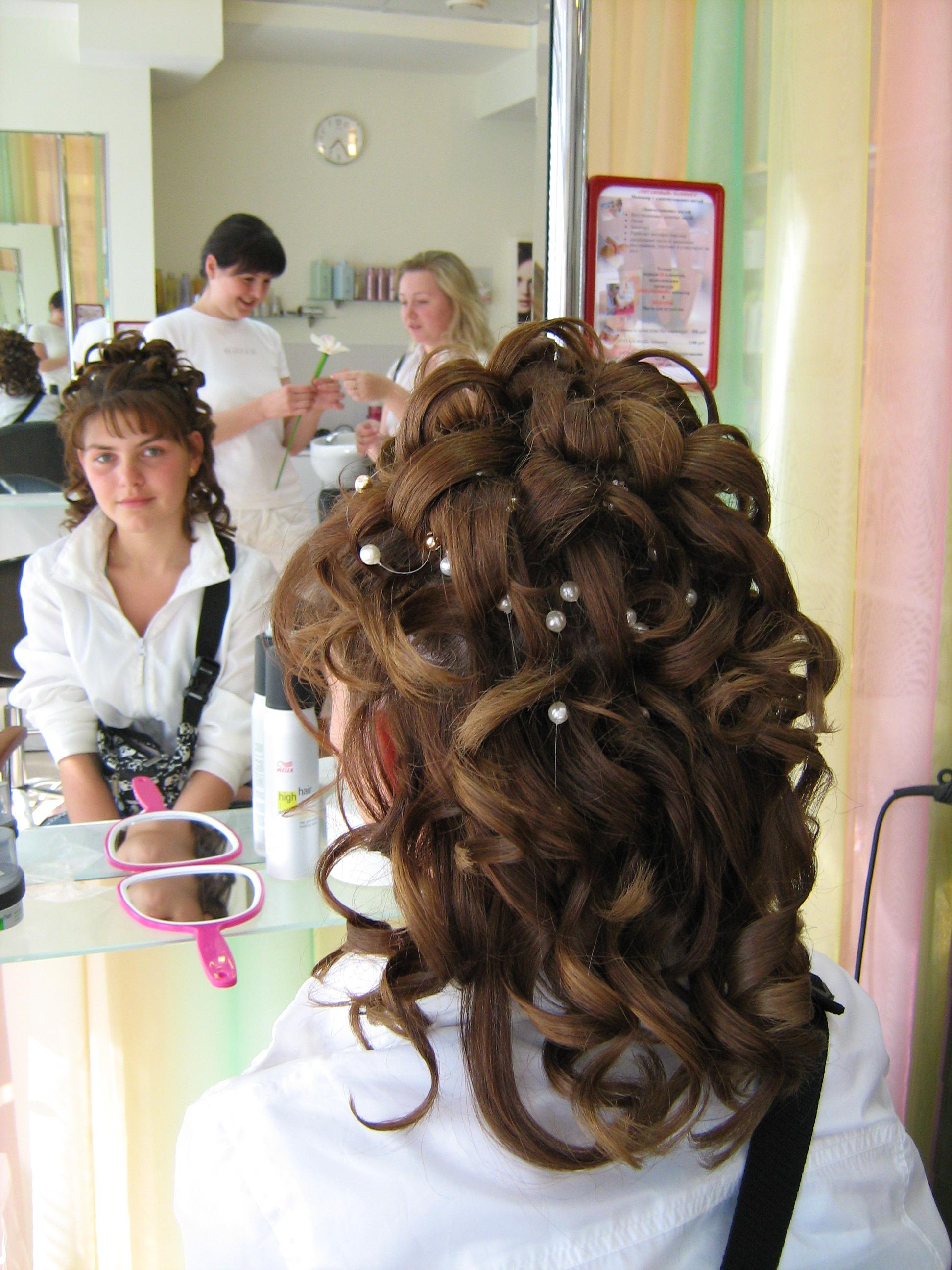Фото причесок в парикмахерской