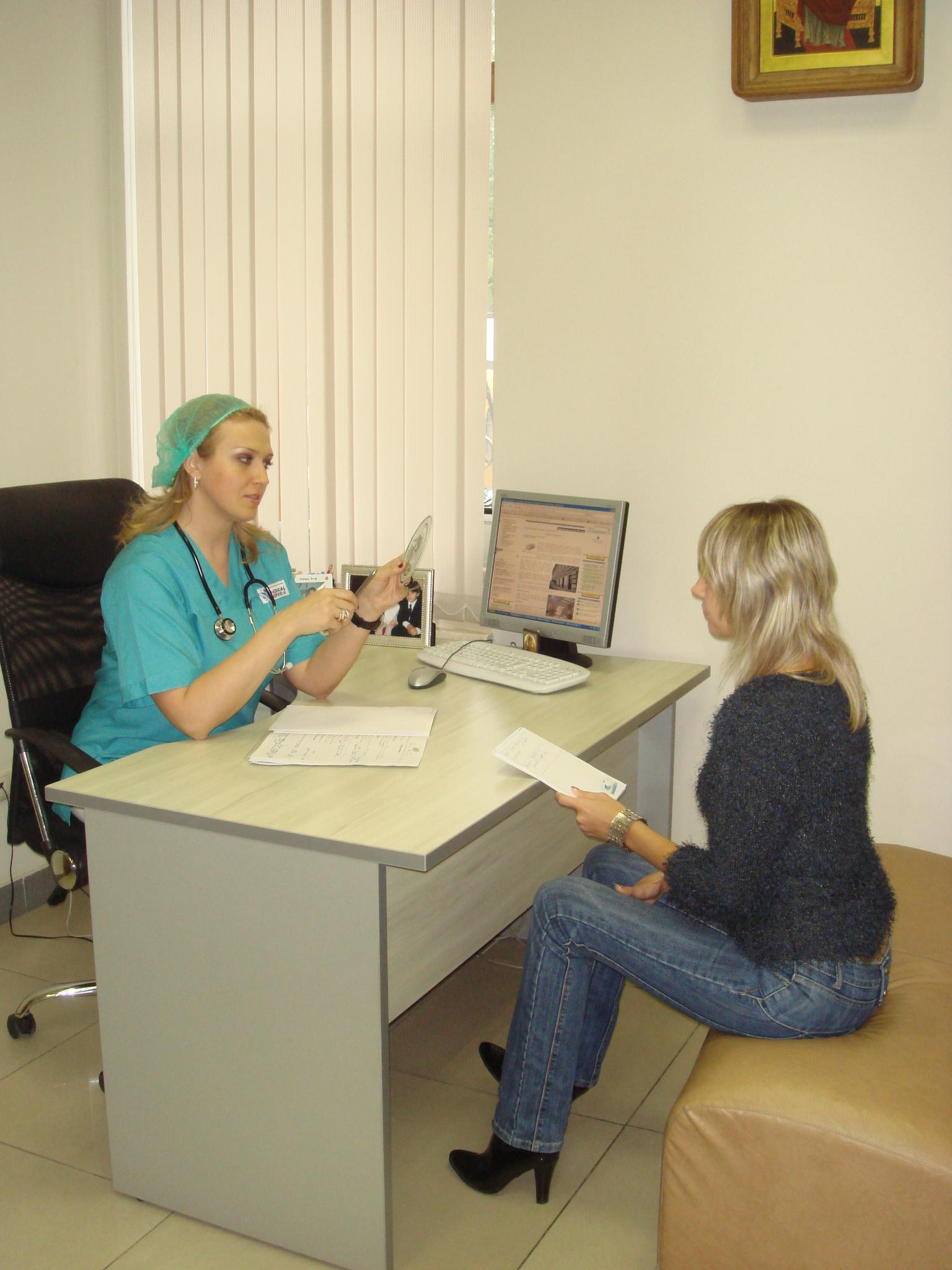 У гинеколога по русски 4 фотография