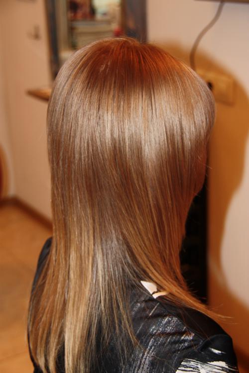 Как получить темно-коричневый цвет волос при окрашивании с холодным 88