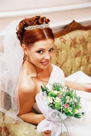 Свадебные прически нарощенными волосами фото
