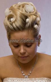 Прически из тонких волос для свадьбы